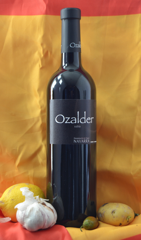 Bodega Ozalder, Tinto Roble, DO Navarra